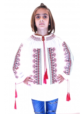 Ie Traditionala Romaneasca Fete